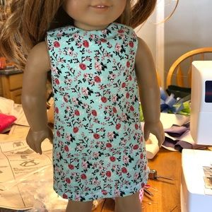 Other - Hand sewn 18 inch doll dress FLORAL